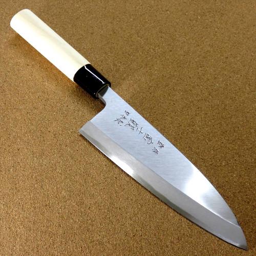 Japanese Kitchen Deba Knife 165mm 6.5 inch Single edged Right handed SEKI JAPAN