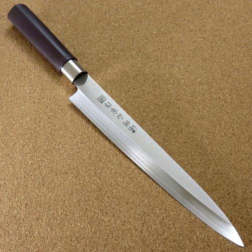 "Japanese Masamune Kitchen Sashimi Yanagiba Knife 8.1"" Polypropylene SEKI JAPAN"