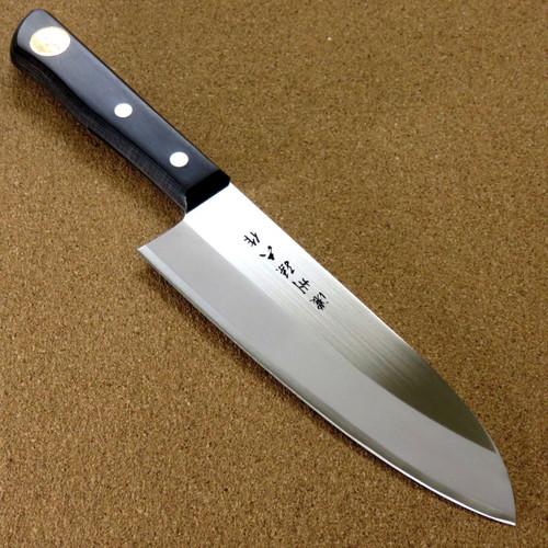 "Japanese Nosyu Magoroku Kitchen Santoku Knife 170mm 6.7"" Molybdenum SEKI JAPAN"