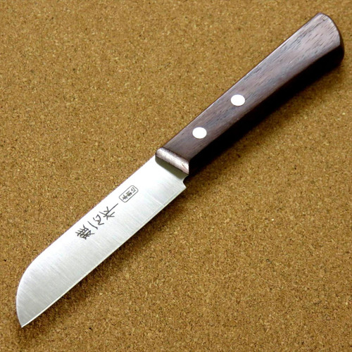 Japanese Miyabi Isshin Kitchen Fruit Paring Knife 3.5 inch 3 Layers SEKI JAPAN