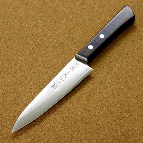 Japanese Miyabi Isshin Kitchen Petty Utility Knife 4.7 inch 3 Layers SEKI JAPAN