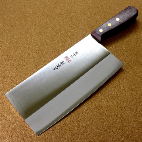 Japanese Masahiro Kitchen Chinese Chef Knife 7.7 inch 3 Layers TX-203 SEKI JAPAN
