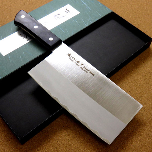 "Japanese Masamune Kitchen Chinese Chef's Knife 180mm 7"" ABS resin Bolster JAPAN"