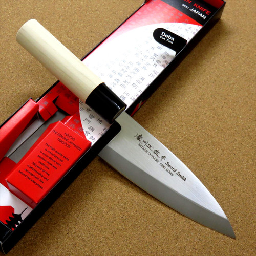 Japanese Masamune Kitchen Deba Knife 5 inch Single edged Right handed SEKI JAPAN