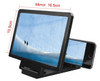 Foldable 3D Mobile Phone Magnifier Screen Amplifier HD Stand