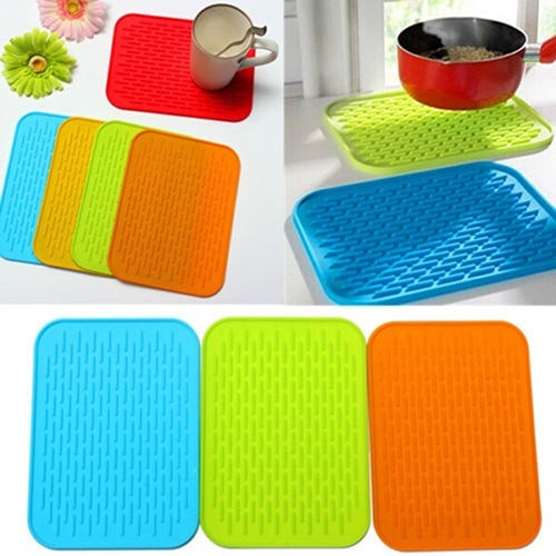 Insulated Silicone Drainage Pad for Drying Dishes