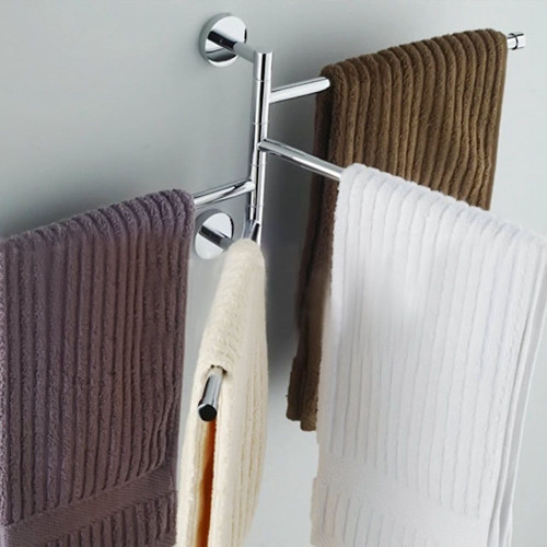 New 4 Bar Stainless Steel Bathroom Towel Rack Organizer