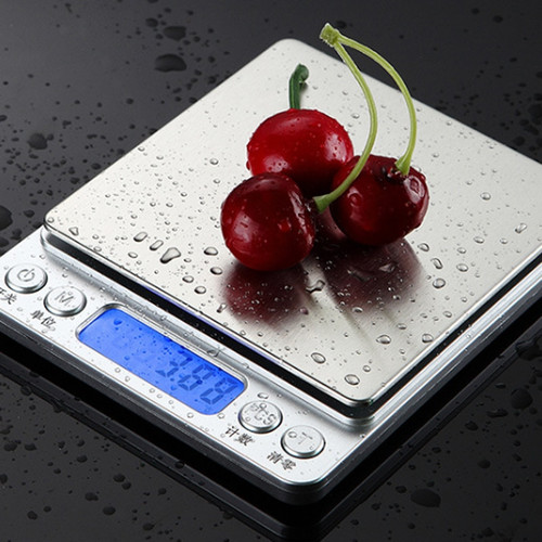 Stainless Steel Kitchen Digital Scales 0.1g/3kg