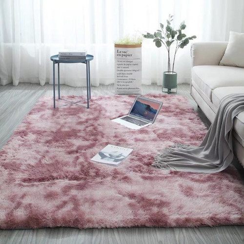 Plush Soft Faux Fur Non-slip Floor Rug, 5 sizes, 5 colors