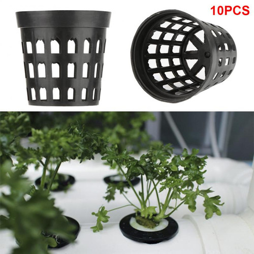 10 x Hydroponic Pots, available in 2 sizes. Buy in bulk and save!