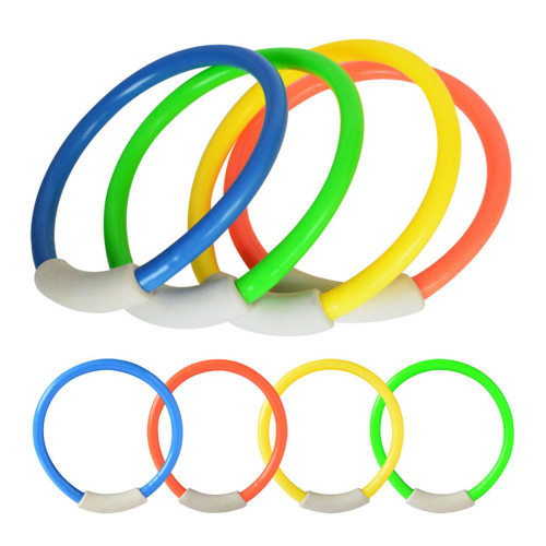 4 Piece Diving Pool Ring Toy