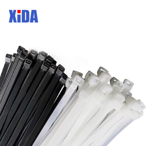 100PCS Zip/Cable Ties 6 sizes, 2 colors