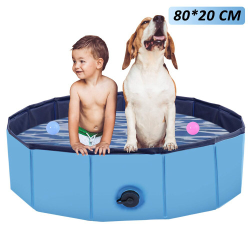 Non-Slip Pet Dog Foldable Outdoor Swimming Pool