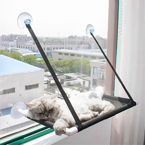 Cat Hanging Bed Sunny Window Hammock for Cats up to 10kg