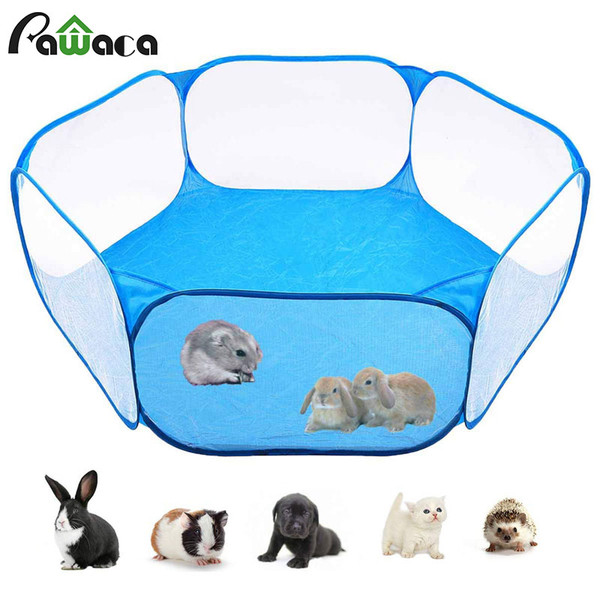 Portable Pop Out Play Pen for puppies/small animals