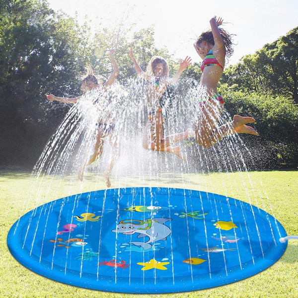 Outdoor Inflatable Water Spray Sprinkler Play Mat (2 sizes)