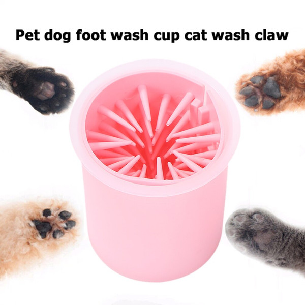 Portable Dog Dirty Paw Foot Cleaner Tool