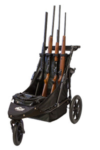 Black/Charcoal Limited Edition 4-Gun Shooting Cart
