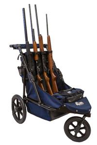 Navy/Charcoal Limited Edition 4-Gun Shooting Cart