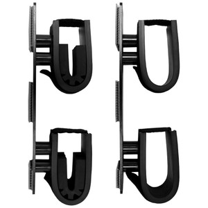 Double Hook Dual Lock Mount Gun Holder