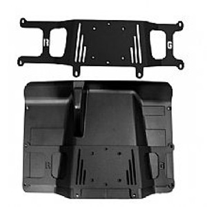 Compact Floor Mount 2009-Up Full Sized Polaris Ranger UTV Adapter Plate Part # 10138