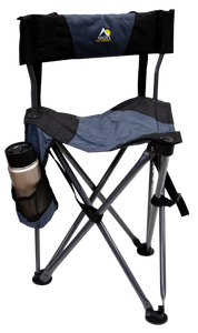 Cart Stool with Padded Back
