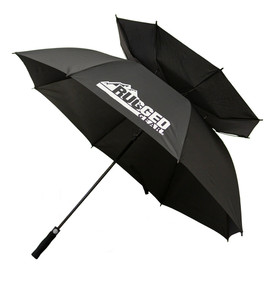 Black Wind Resistant Umbrella