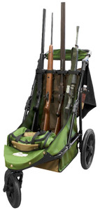 OD Green/Coyote Brown 4-Gun Limited Edition Shooting Cart