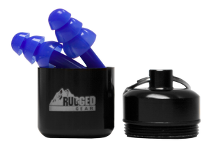 Rugged Gear Ear Plugs With Case