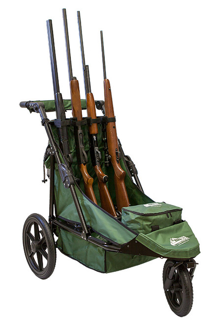 4-Gun Shooting Cart Combo Package