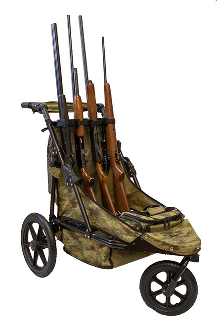 Camo Limited Edition 4-Gun Shooting Cart