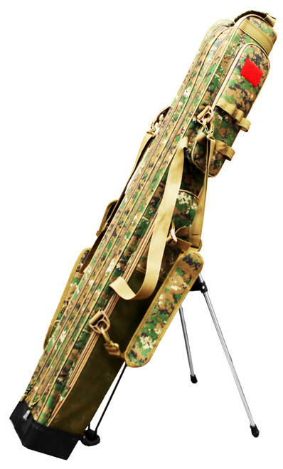 Portable Fishing Rod Carrier - Camo