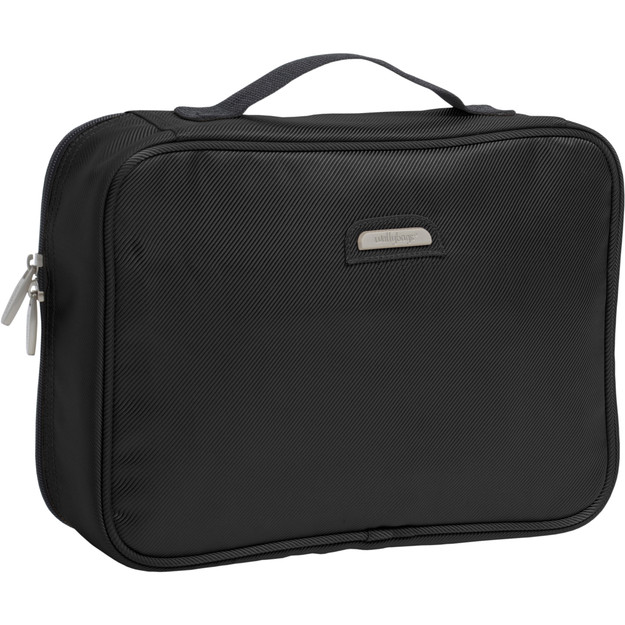 Image of toiletry bag with carrying handle