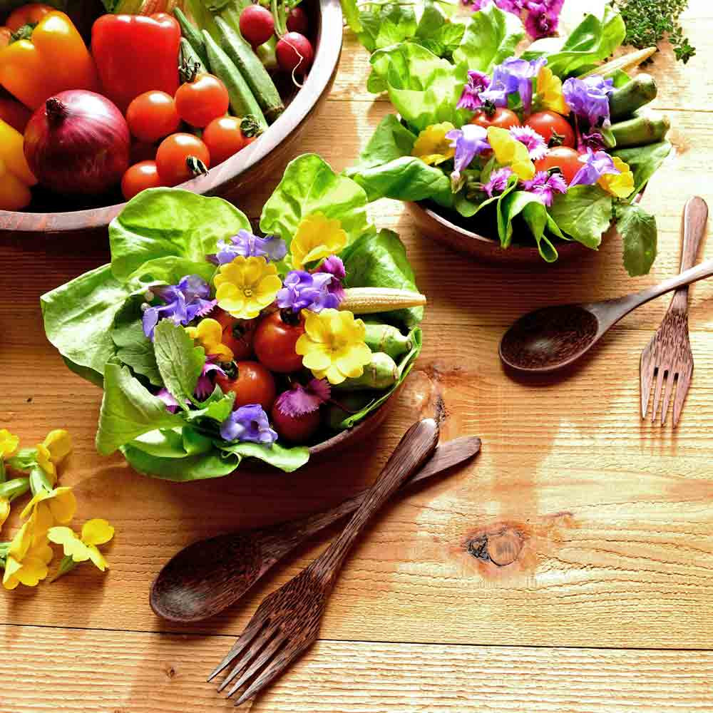 Edible Flower Seed Mix