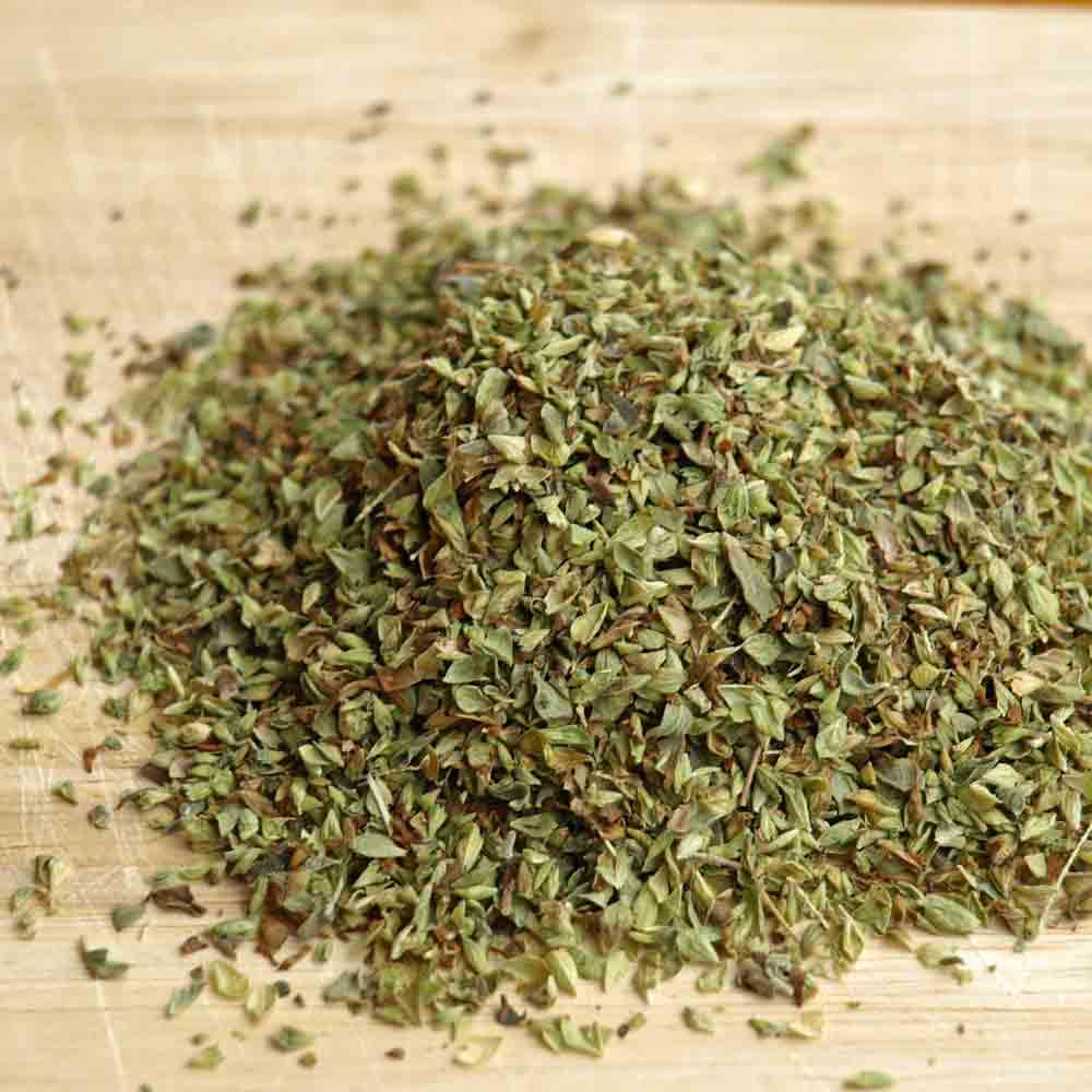 True Greek Oregano as a dried herb- (Origanum heracleoticum)