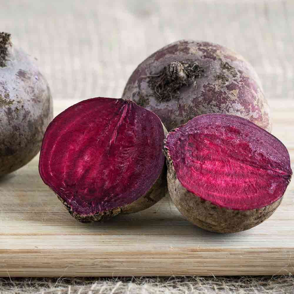 Sliced Bull's Blood Beet - (Beta vulgaris)