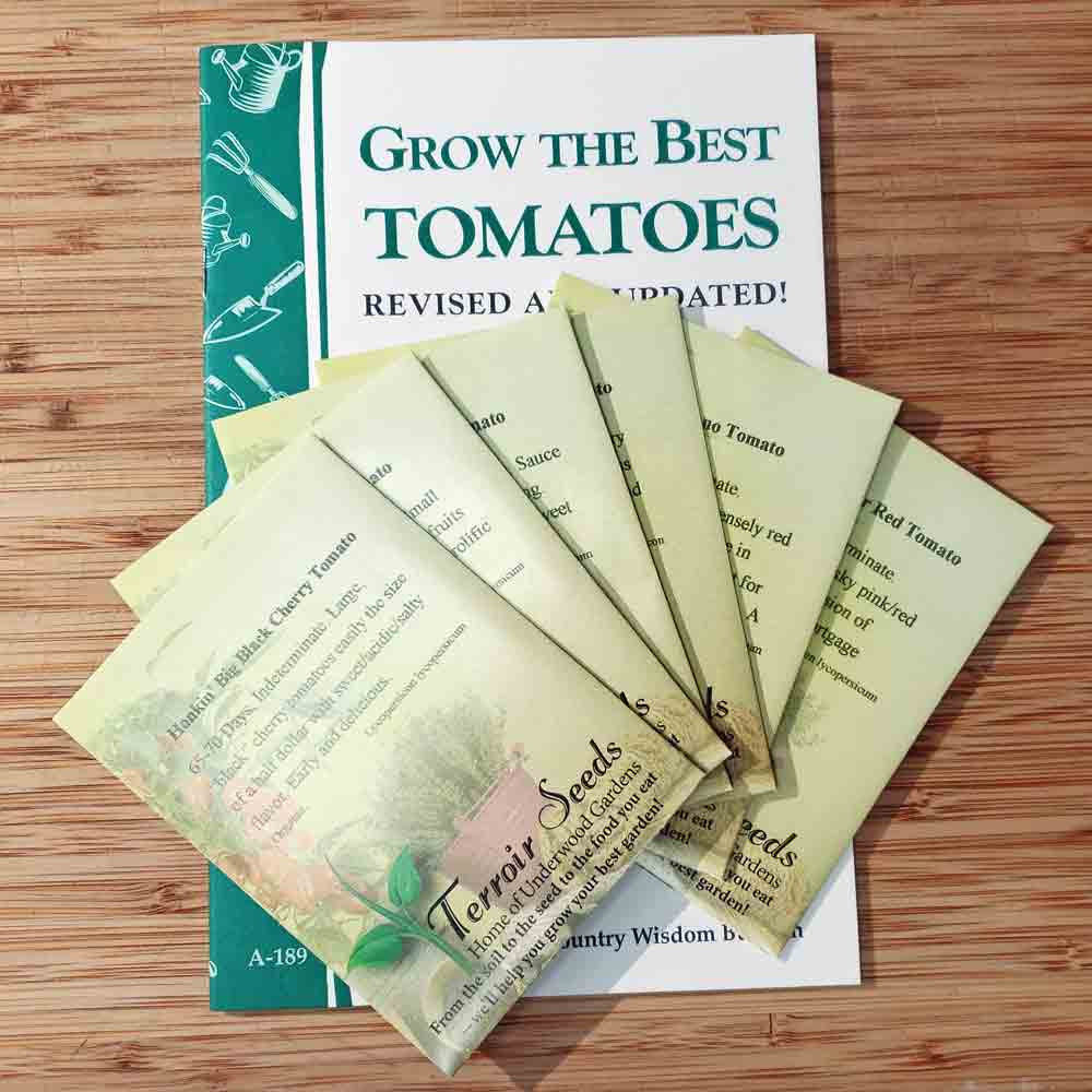Tomato Lover's Heirloom Seed Collection
