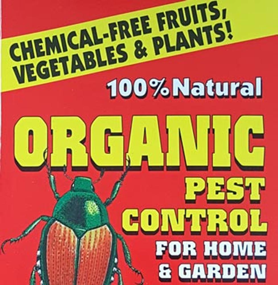 100% Natural Organic Pest Control For Home & Garden