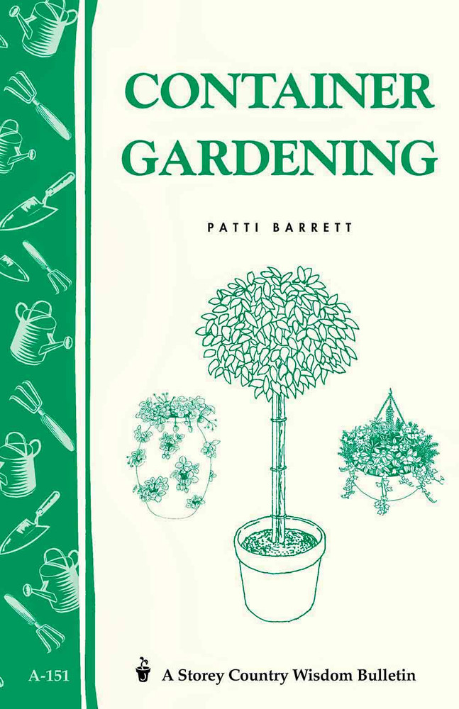 Container Gardening Book by Patricia R. Barrett