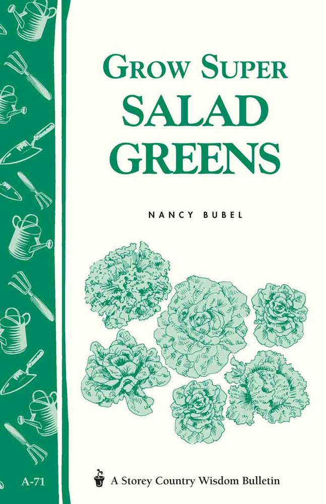 Grow Super Salad Greens by Nancy Bubel