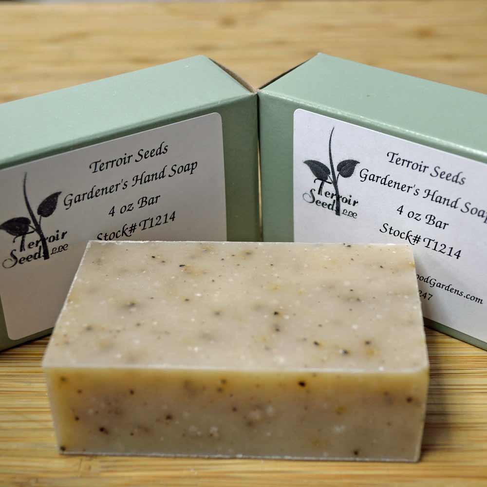 Certified Organic Handmade Gardener's Hand Soap