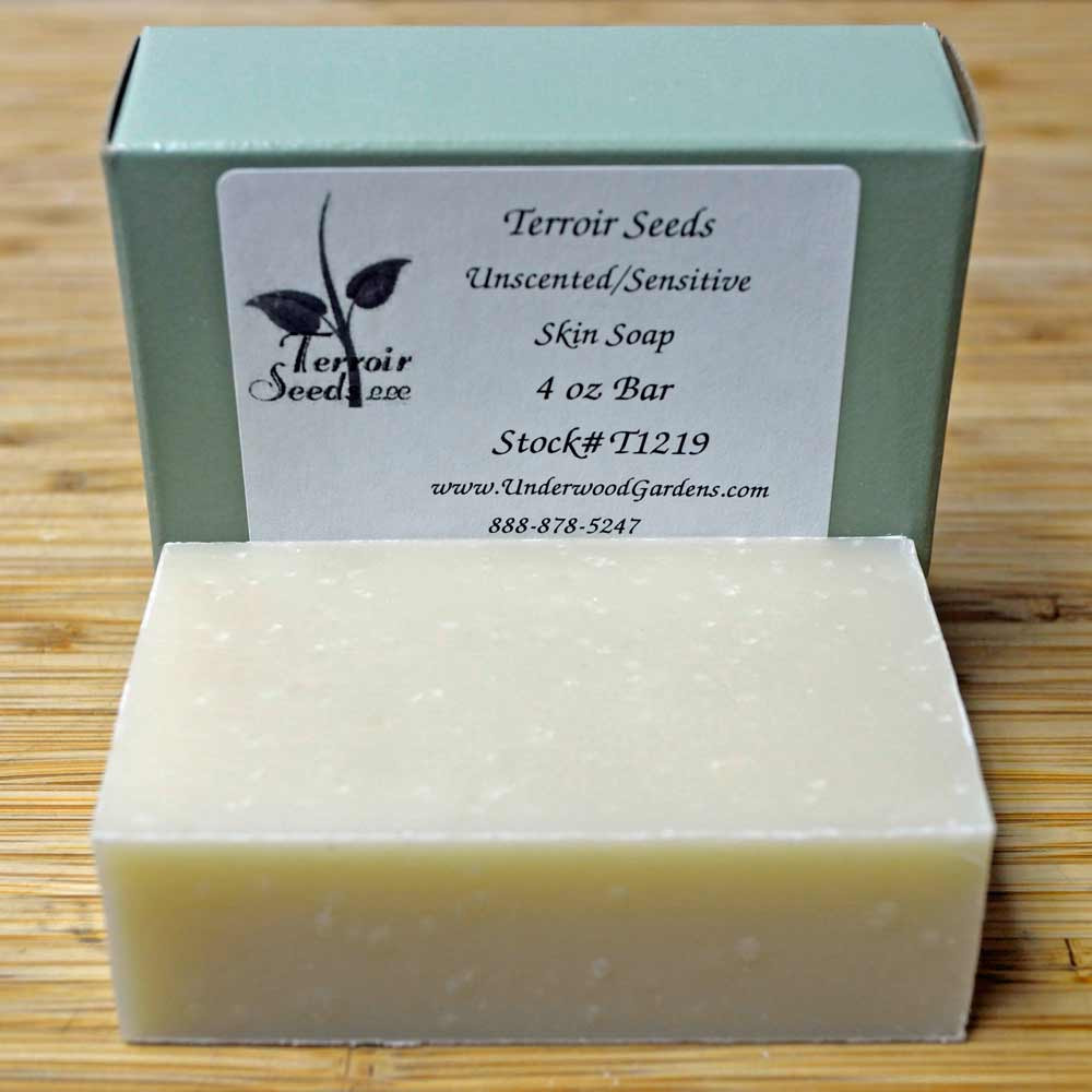 Certified Organic Handmade Unscented/Sensitive Skin Soap
