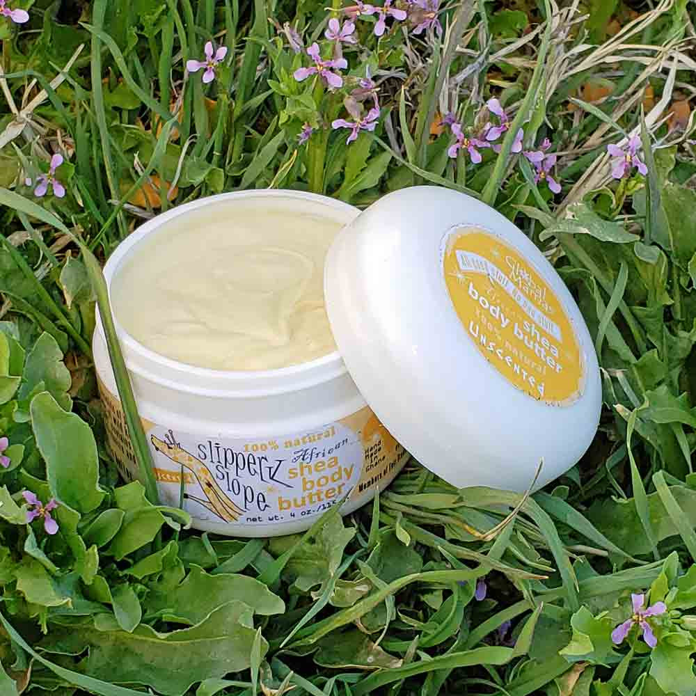 Handmade Original Unscented 100% Shea Butter 4 oz