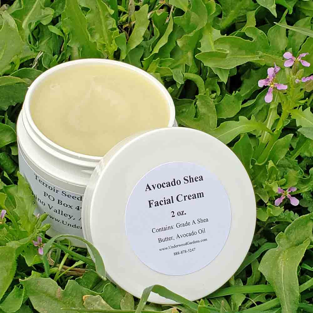 Handmade Avocado Shea Facial Cream 2 oz