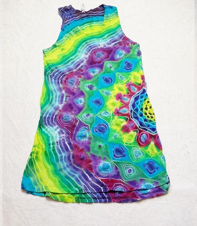 Medium tie dye tank dress