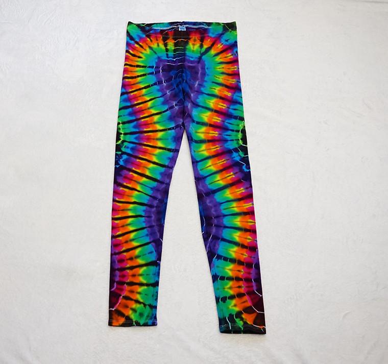 Medium Rainbow wave DNA leggings