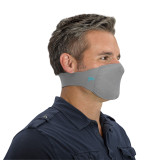Antimicrobial Unisex Neck Loop Face Mask (2-pack), Grey