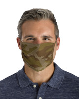 Antimicrobial Unisex Face Mask (2-pack), Filter Pocket, Camo