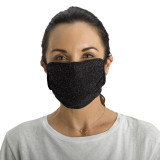 Antimicrobial Unisex Face Mask (2-pack), Filter Pocket, Metallic