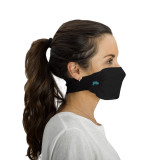 Antimicrobial Unisex Neck Loop Face Mask (2-pack), Black